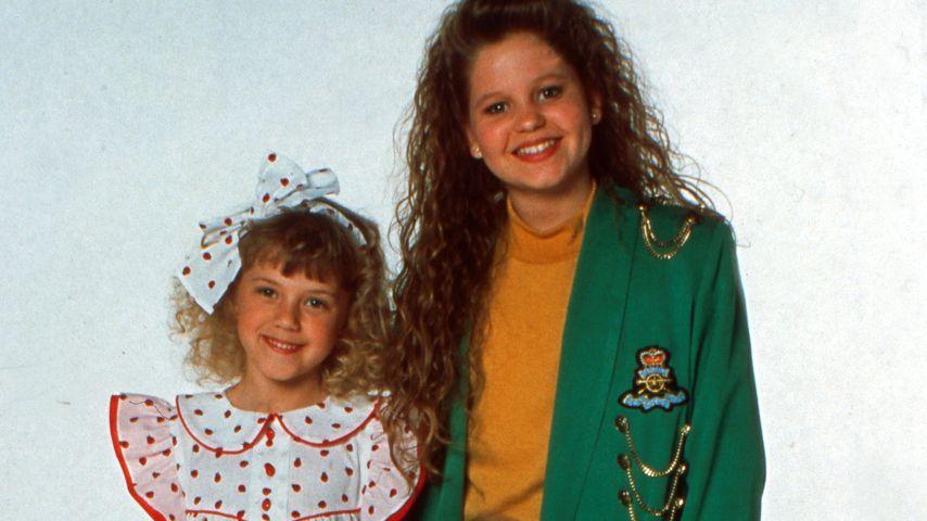 "Jodie Sweetin, Candace Cameron und Ashley/Mary-Kate Olsen bei ""Full House"" 1989"