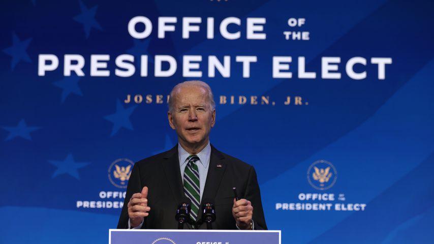 Joe Biden im US-Bundesstaat Delaware im Januar 2021