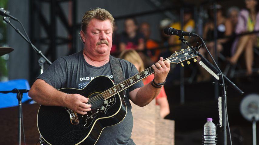 Joe Diffie bei einem Auftritt in Wisconsin 2016