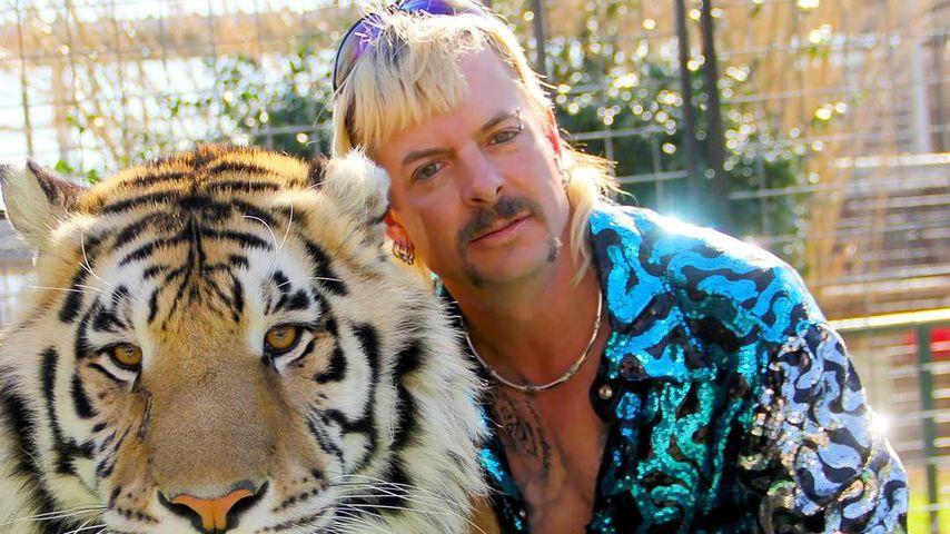 Spritzte Joe Exotic Menschen Beruhigungsmittel für Tiere?