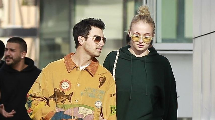 Joe Jonas und Sophie Turner in Beverly Hills, Januar 2020