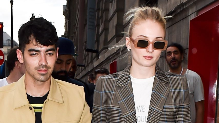 Joe Jonas und Sophie Turner im Juni 2019 in Paris