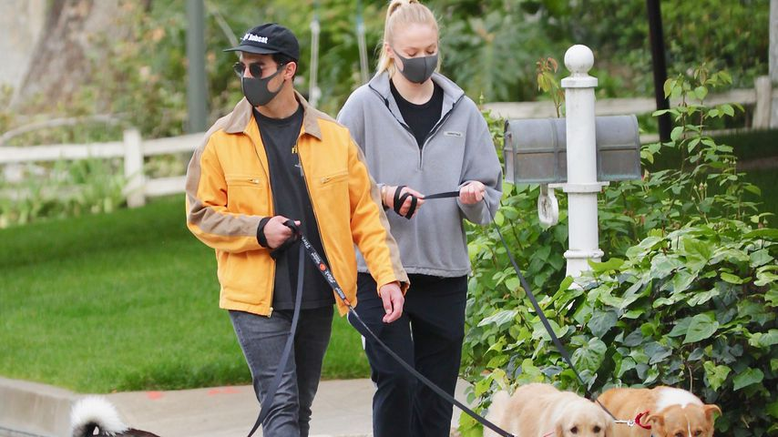 Joe Jonas und Sophie Turner in Encino