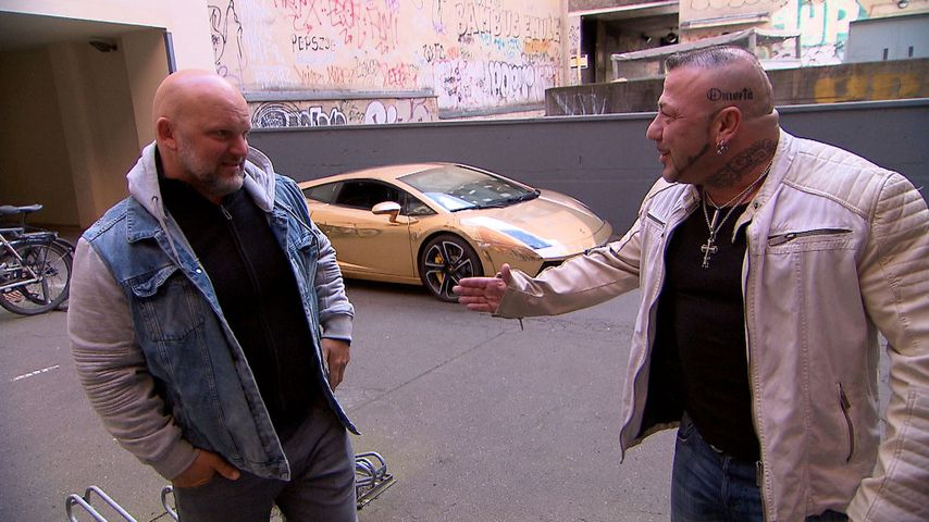 "Joe (Lutz Schweigel) und Fabrizio (Fernando Dela Vega) bei ""Berlin - Tag & Nacht"""
