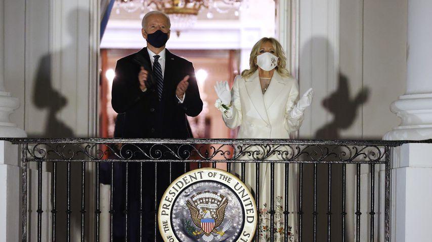 Joe und Dr. Jill Biden im Weißen Haus in Washington D.C. im Januar 2021