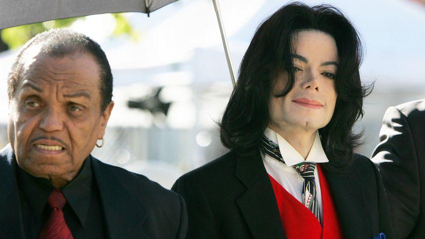 Joe und Michael Jackson im Jahr 2005