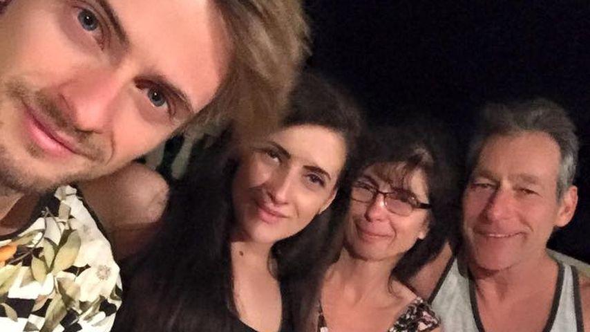 Jörn Schlönvoigt mit seiner Familie
