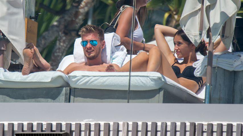 Jörn und Hanna Schlönvoigt in ihren Flitterwochen in Miami