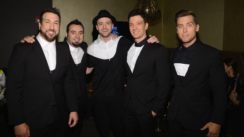 "Joey Fatone, Chris Kirkpatrick, Justin Timberlake, JC Chasez und Lance Bass bei den ""MTV Video Music"