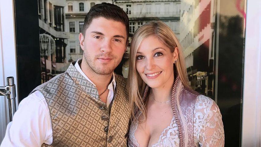 Joey Heindle und seine Freundin Ramona Elsener