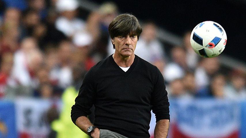 Joachim Löw beim EM-Spiel gegen Italien 2016