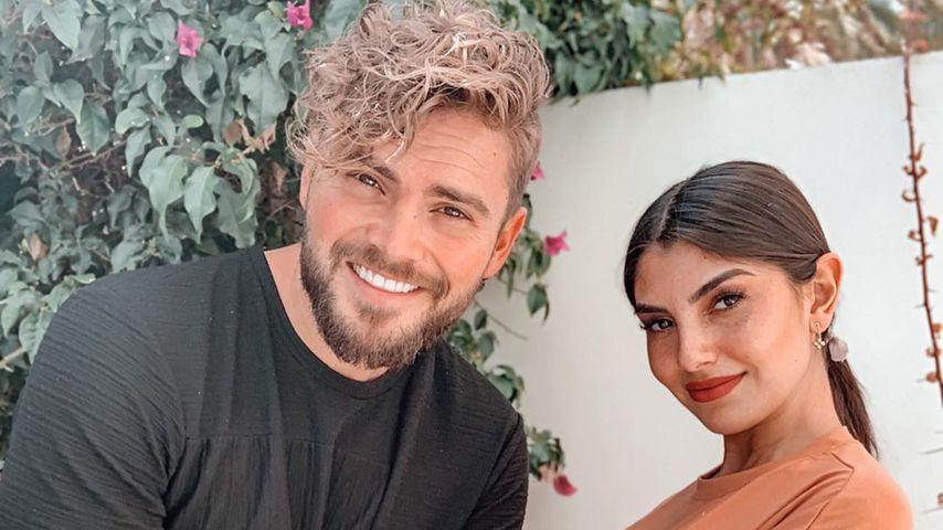 Johannes Haller und Yeliz Koc auf Ibiza, März 2020