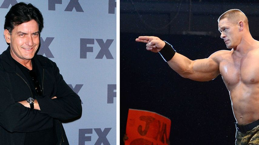 Charlie Sheen wird WWE-Kommentator - auf Twitter!