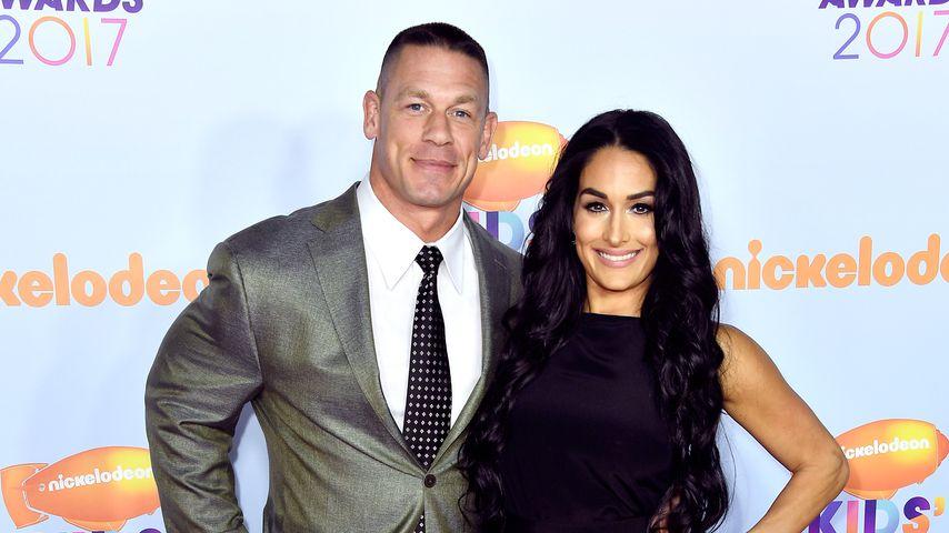 John Cena und Nikki Bella im März 2017