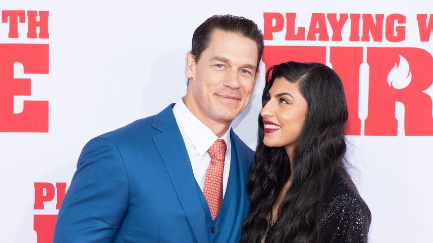 John Cena und Shay Shariatzadeh im Oktober 2019