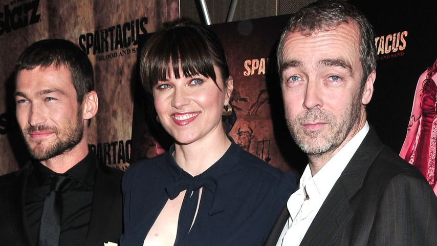 Lucy Lawless und Andy Whitfield