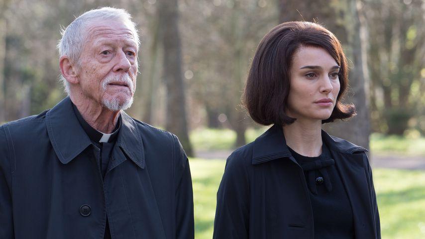 """John Hurt und Natalie Portman in """"Jackie"""""""