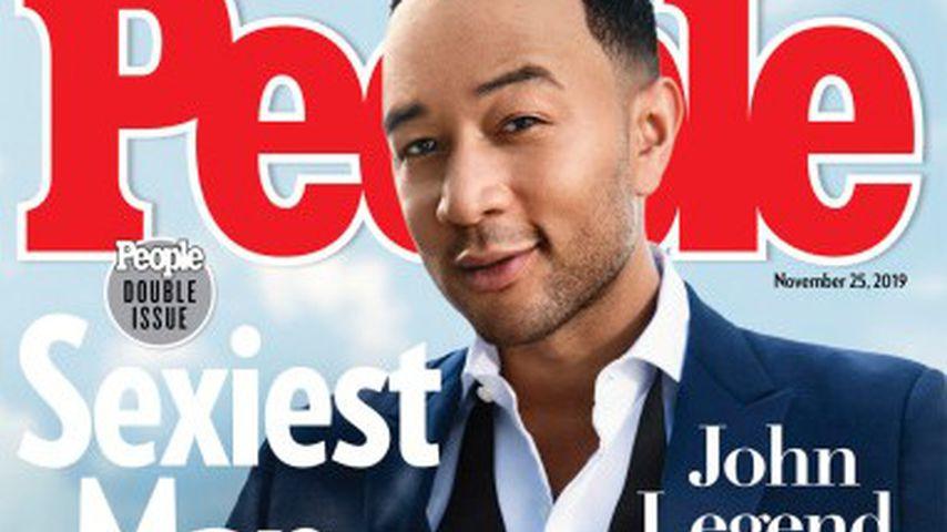 John Legend auf dem Cover des People-Magazins