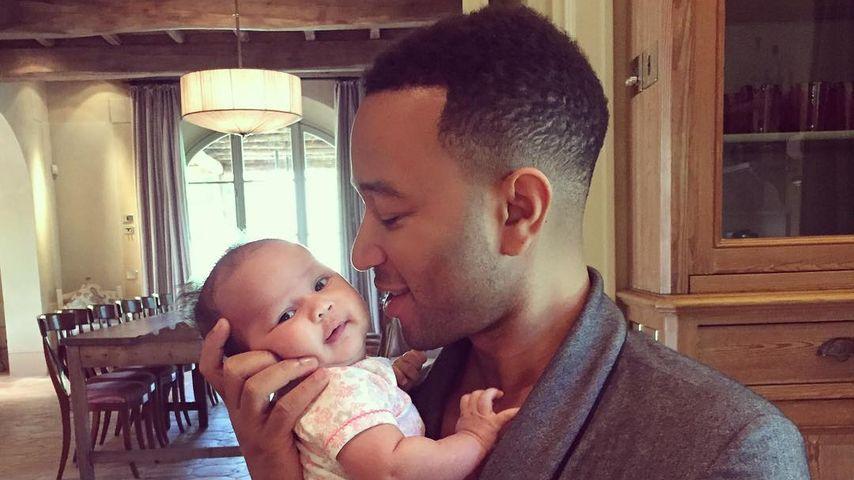 John Legend: So sehr hat Töchterchen Luna ihn verändert!