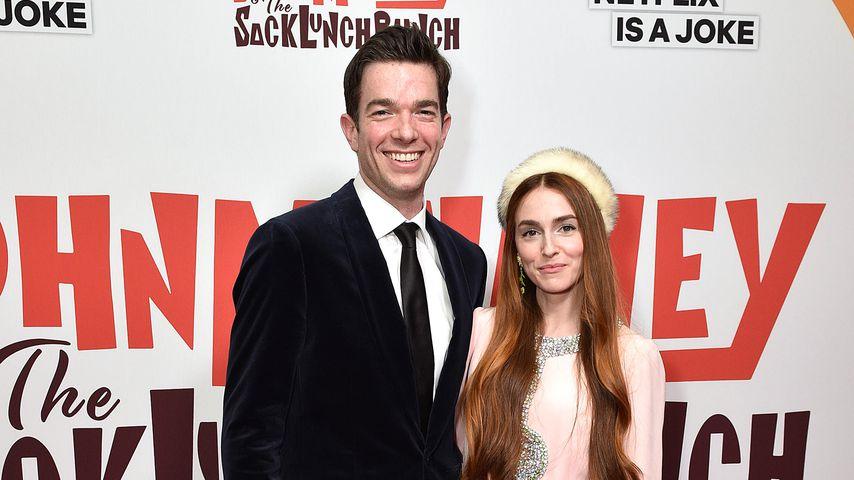 John Mulaney und Annamarie Tendler