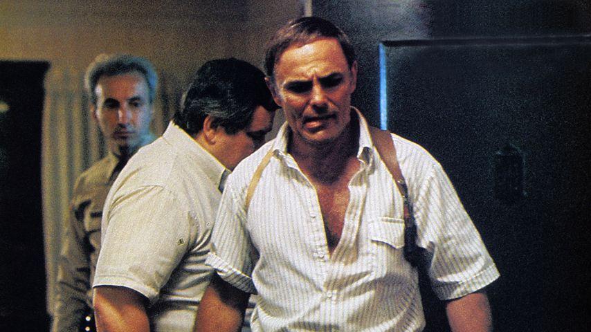 "John Saxon im Film ""A Nightmare on Elm Street""-Darsteller"