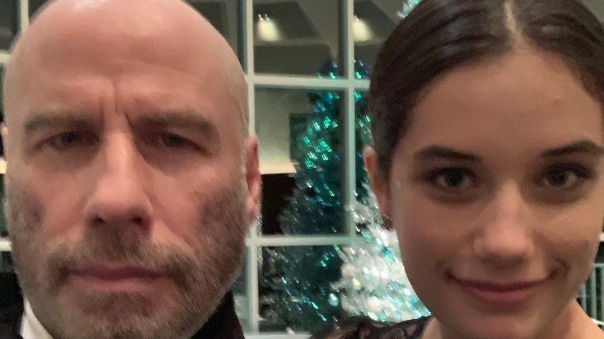 John Travolta und seine Tochter Ella an Silvester