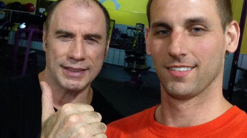 Halbglatze: Wo sind denn John Travoltas Haare hin?