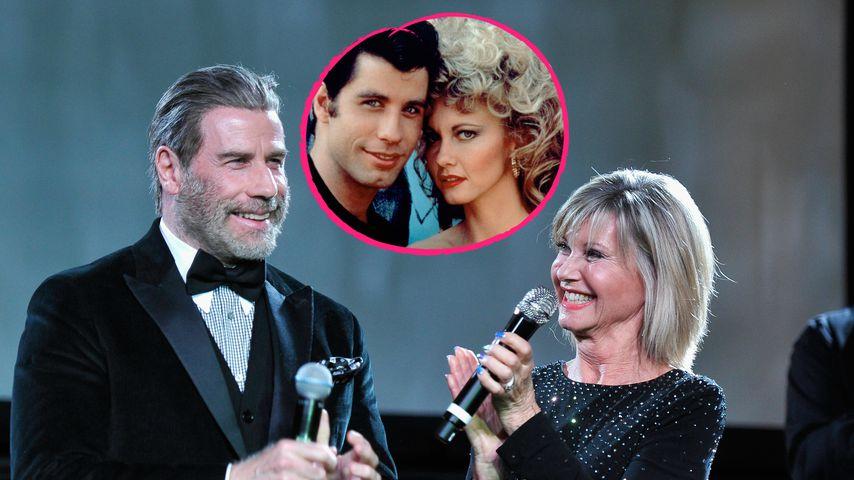 """40 Jahre nach """"Grease"""": John Travolta & Olivia wiedervereint"""