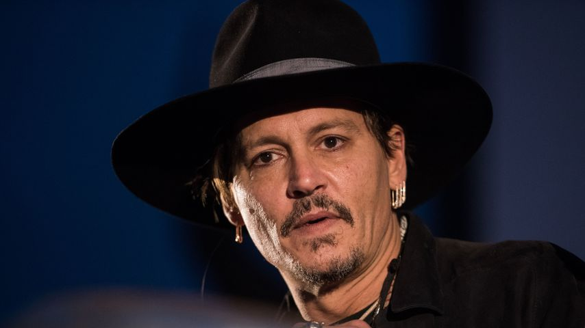 Johnny Depp beim Glastonbury Festival 2017