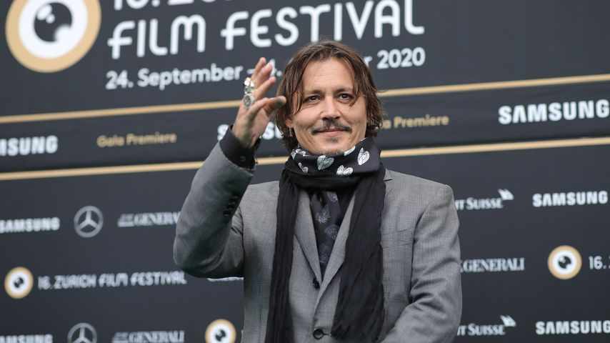 Johnny Depp im Oktober 2020
