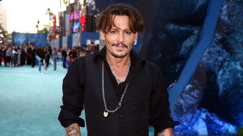 Johnny Depp im Jahr 2017