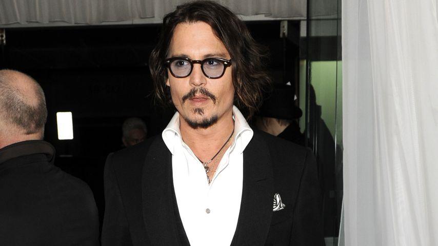 """Johnny Depp bei der """"Alice im Wunderland""""-Premiere in London im Februar 2010"""