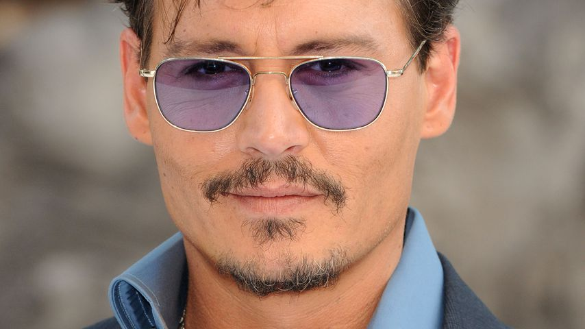"Johnny Depp bei der ""The Lone Ranger""-Premiere 2013"