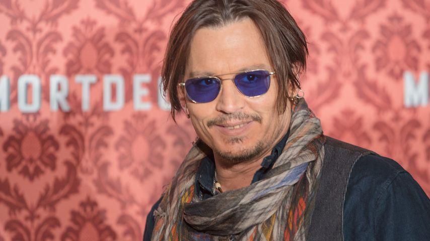 Fixe Sache: So kurz war Johnny Depps Berlin-Trip