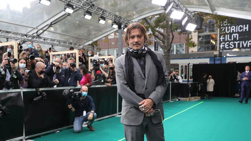 Schauspieler Johnny Depp, 2020 in Zürich