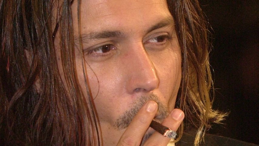 "Johnny Depp bei der ""From Hell""-Premiere in L.A. im Oktober 2001"