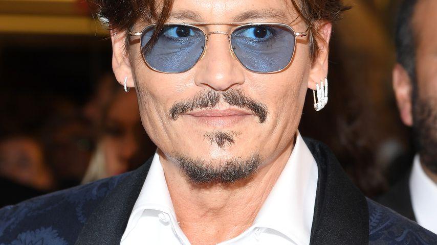"""Johnny Depp bei einer """"Waiting For The Barbarians""""-Filmvorführung in Venedig im September 2019"""