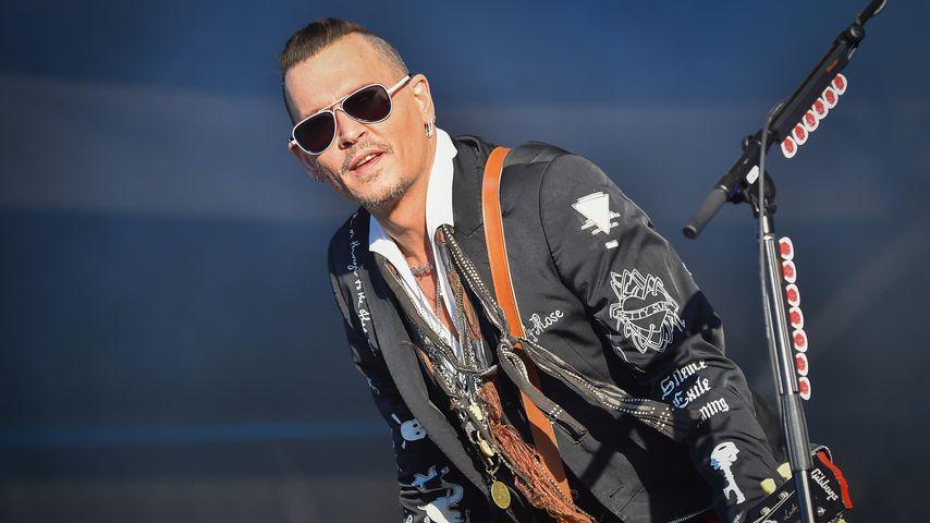 Johnny Depp im Juni 2018