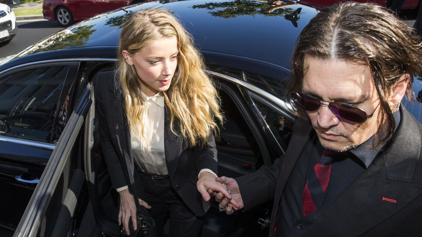 Urteil gefallen! Amber Heard muss 1000 Dollar Strafe zahlen