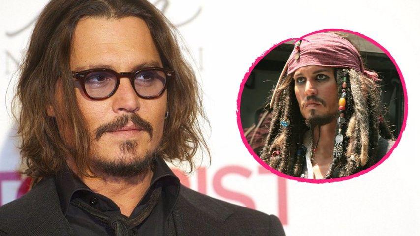 """Johnny Depp verrät: Bei """"Fluch der Karibik"""" fast gefeuert"""