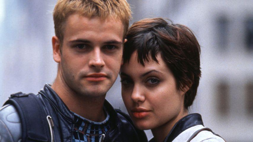 """Johnny Lee Miller und Angelina Jolie in dem Film """"Hackers - Im Netz des FBI"""", 1995"""