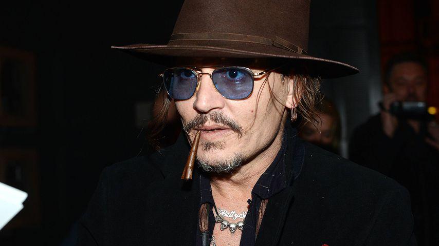 """Irrationale Ausraster"": Johnny Depp über schlimme Kindheit!"