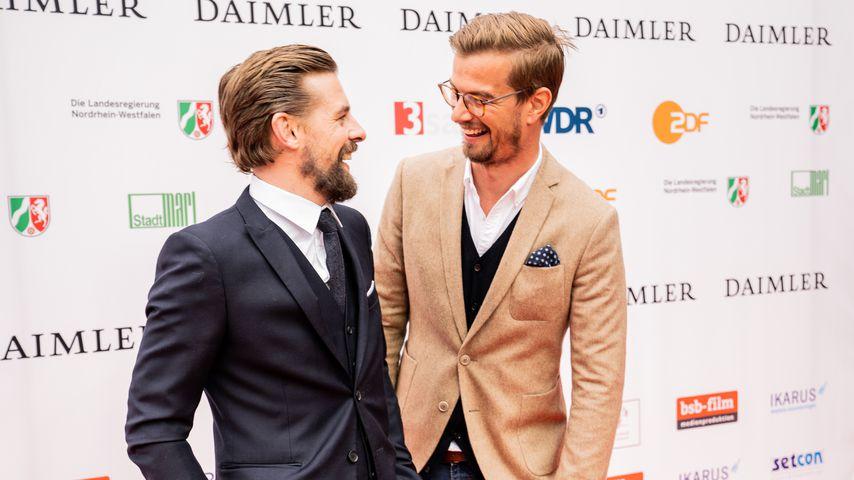 Joko Winterscheidt und Klaas Heufer-Umlauf bei der 54. Verleihung des Grimme-Preises
