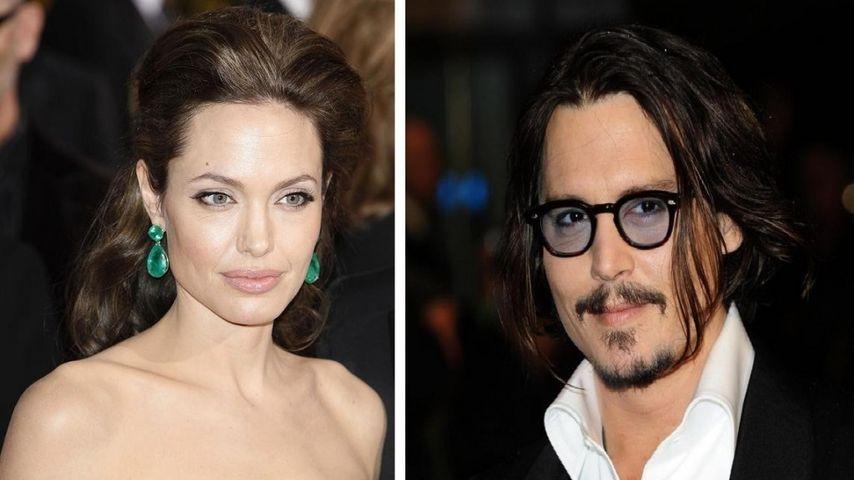 Söhne von Depp und Jolie dicke Kumpels