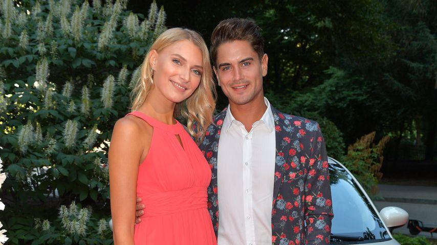 Jolina Fust und Dominik Bruntner im Juli 2019