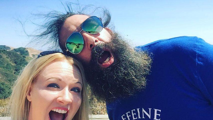 Jonathan Huber mit seiner Frau Amanda