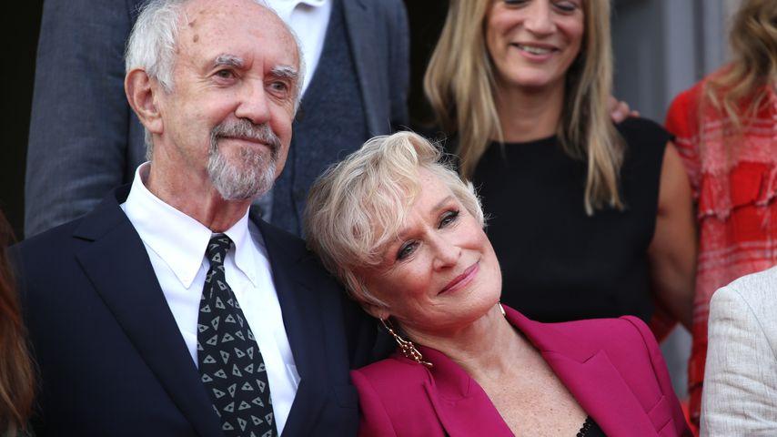 """Jonathan Price und Glenn Close bei der Premiere von """"Die Frau des Nobelpreisträgers"""""""