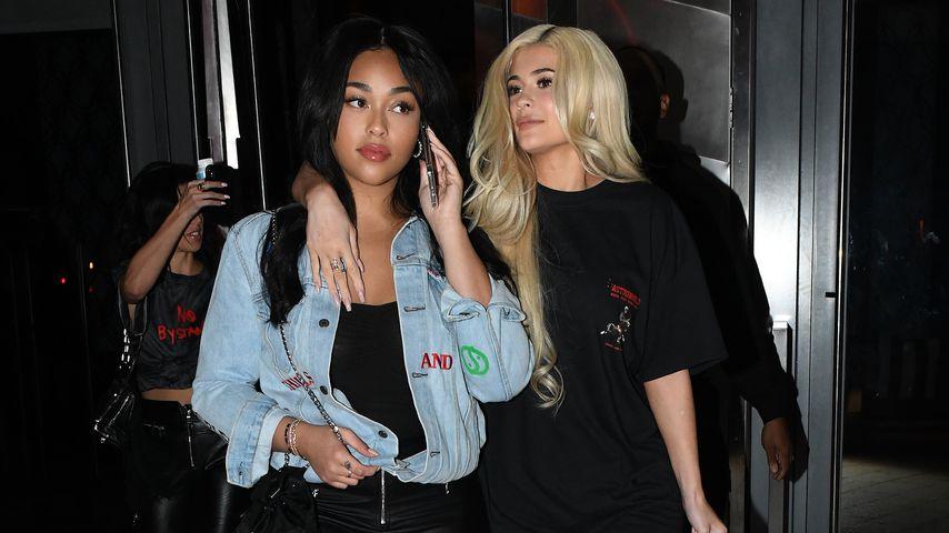 Jordyn Woods und Kylie Jenner in Miami