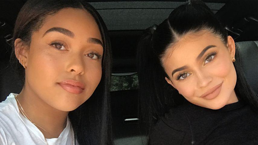 Jordyn Woods und Kylie Jenner im Auto