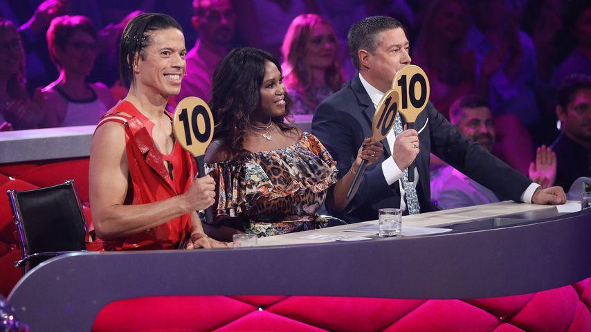 "Jorge Gonzalez, Motsi Mabuse und Joachim Llambi in der zehnten ""Let's Dance""-Show"